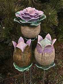Dekorácie - Kvet - Ruža - 9289778_