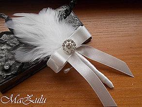 Pierka - svadobné pierka pre ockov, svedkov... - 9290053_