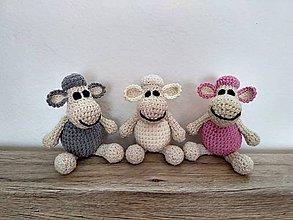 Hračky - Háčkované ovečky - 9292218_