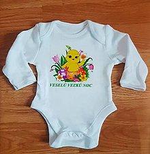 Detské oblečenie - Veľkonočné body - 9290146_