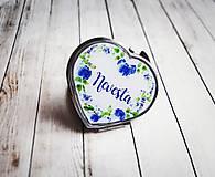 Darčeky pre svadobčanov - Svadobné zrkadielko pre nevestu - 9293729_