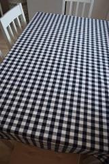 Úžitkový textil - UBRUS KOSTIČKA ...modrý - 9290342_