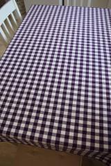 Úžitkový textil - UBRUS KOSTIČKA...fialový - 9290344_