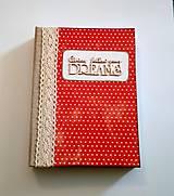 Papiernictvo - Ručne šitý diár * zápisník * sketchbook A5 - 9291048_