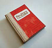 Papiernictvo - Ručne šitý diár * zápisník * sketchbook A5 - 9291049_