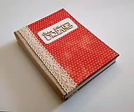 Papiernictvo - Ručne šitý diár * zápisník * sketchbook A5 - 9291050_