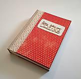Papiernictvo - Ručne šitý diár * zápisník * sketchbook A5 - 9291052_
