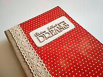 Papiernictvo - Ručne šitý diár * zápisník * sketchbook A5 - 9291055_