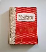 Papiernictvo - Ručne šitý diár * zápisník * sketchbook A5 - 9291056_