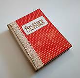 Papiernictvo - Ručne šitý diár * zápisník * sketchbook A5 - 9291057_