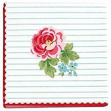 Papier - Servítka  G65-Lily white-akcia - 9290071_