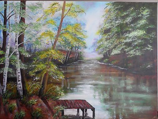Poludnie pri rieke