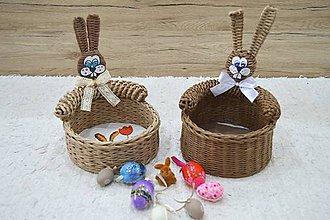 Dekorácie - košík na vajíčka - 9293351_