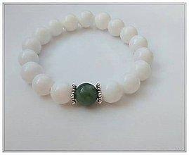 Náramky - Náramok Jadeit s jaspisom - 9291051_