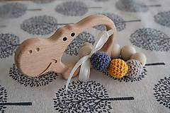 Hračky - Hryzátko do rúčky - hrkálka - 9291481_