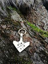 Náhrdelníky - Thorovo kladivo II. bronz - 9291838_