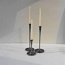 Svietidlá a sviečky - Kované svietniky. 36 - 9294033_