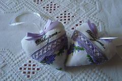 Darčeky pre svadobčanov - Svadobné srdiečko - 9293487_