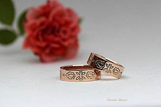 Prstene - Obrúčky - Považie - 9291147_