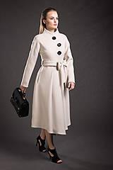 Kabáty - VÝPREDAJ Kašmírový kabát - 9293545_