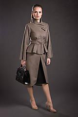 Kabáty - VÝPREDAJ Kašmírový kabát - 9293624_