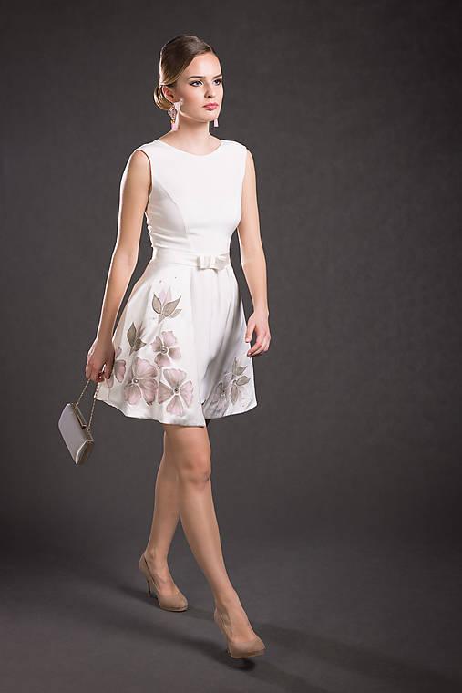 Variabilné hodvábne šaty   danielahrabovska - SAShE.sk - Handmade Šaty 6f6d27c7ba2