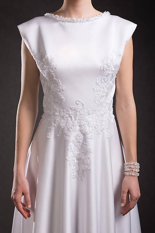 Svadobné šaty   danielahrabovska - SAShE.sk - Handmade Šaty 9c973c7f90f