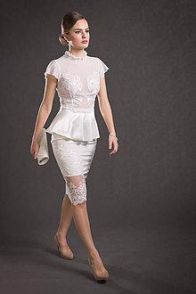 Iné oblečenie - Blúzka so sukňou - 9293951_