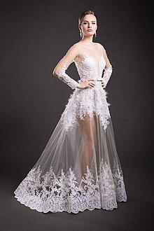 Šaty - VÝPREDAJ Svadobné šaty - 9294009_