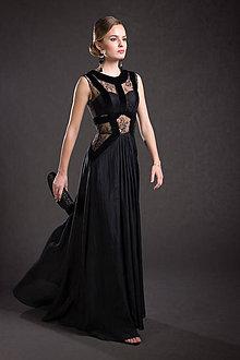Šaty - VÝPREDAJ Spoločenské šaty - 9294037_