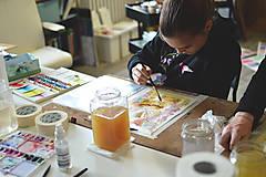 Kurzy - WORKSHOP akvarelovej maľby, úvodný kurz - 9290400_
