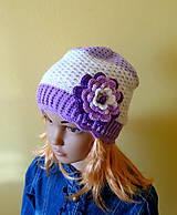 Bielo fialova prechodna ciapka SKLADOM