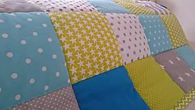Úžitkový textil - Patchworková súprava - Janíčko - 9296616_