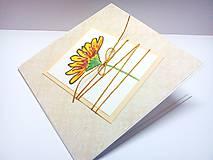 Papiernictvo - Pohľadnica ... už kvitne II - 9297160_