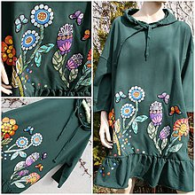 Tuniky - Veselé šaty/tunika pro velké holky...XL-XXL - 9295253_