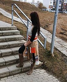 Šaty - lel, boho šaty - 9294556_