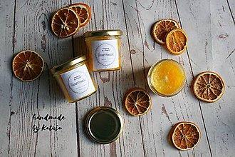 Svietidlá a sviečky - šťavnatý pomaranč (šťavnatý pomaranč mini) - 9296535_