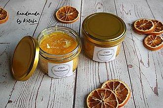 Svietidlá a sviečky - šťavnatý pomaranč (šťavnatý pomaranč väčšia) - 9296538_