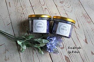 Svietidlá a sviečky - levanduľová - 9296587_