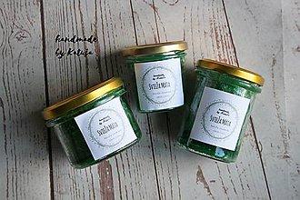 Svietidlá a sviečky - svieža mäta (mini) - 9296604_