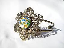 Náramky - Náramok - viacfarebný Opál so striebrom Ag 925/bronz - 9296039_