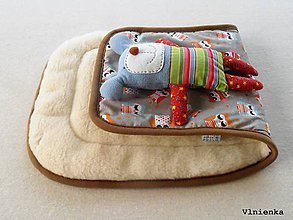 Textil - 100% MERINO wool Podložka do kočíka Bugaboo/ Joolz/ Valco/ Petite and Mars / Britax/ Peg Perego - 9295625_