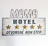Nábytok - Vešiak do kuchyne mama hotel - 9296546_