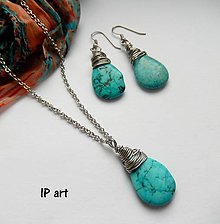 Sady šperkov - Léto s tyrkysem - 9297060_
