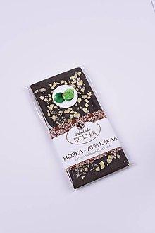 Potraviny - Horká čokoláda s limetkou - 9294218_