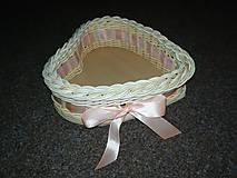 Košíky - Svadobný košík pre Martinu - 9298512_