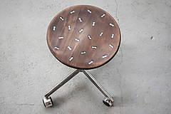 Nábytok - Klavírová otočná stolička - 9297506_