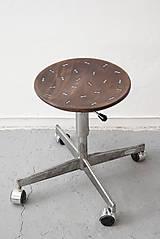 Nábytok - Klavírová otočná stolička - 9297507_