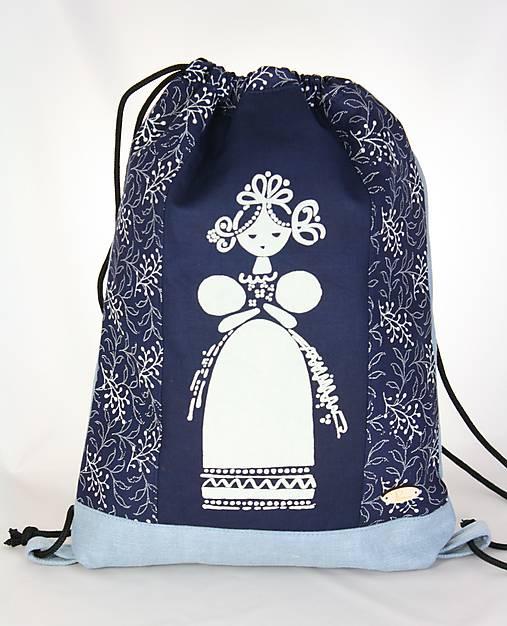 modrotlačový batoh Libena 7