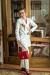 Iné oblečenie - Jarný kostým s aplikáciou-ZĽAVA 50%!!! - 9295374_
